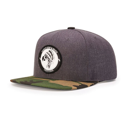 6 Panel Wool Snapback Hat by Richardson Cap