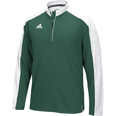 Adidas Men's Climalite Modern Varsity Long Sleeve 1/4 Zip