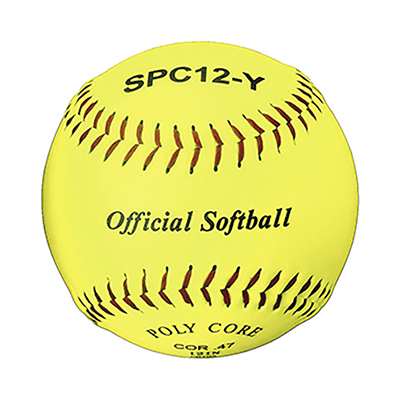 "SPC12-Y Synthetic 12"" Softball"