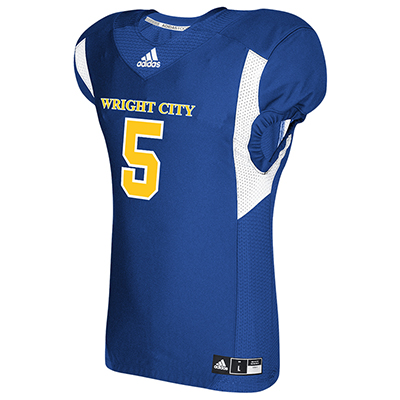 Adidas Stock Techfit Hyped Football Jersey